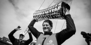 Charles Caudrelier, as de la Course au Large, il a gagné la Volvo Ocean Race et navigue en Ultim aux côtés de Franck Cammas