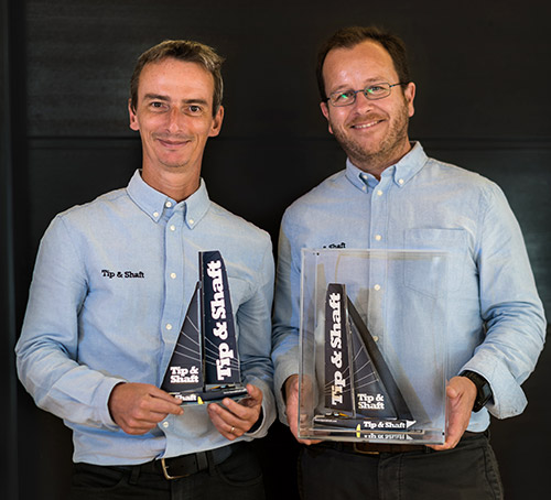 Pierre-Yves Lautrou et Axel Capron, fondateurs de Tip&Shaft