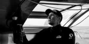 Jeremie Beyou est un coureur hors-pair sur le Vendée Globe, la Transat Jacques Vabre, la Route du Rhum et bien sûr la Solitaire du Figaro.