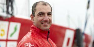 Damien Seguin a fait ses preuves dans la course au large lors de la Transat Jacques Vabre en Class40 et de la Route du Rhum.