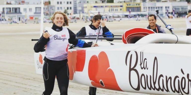 Mathilde Géron est a des aspiration de course au large