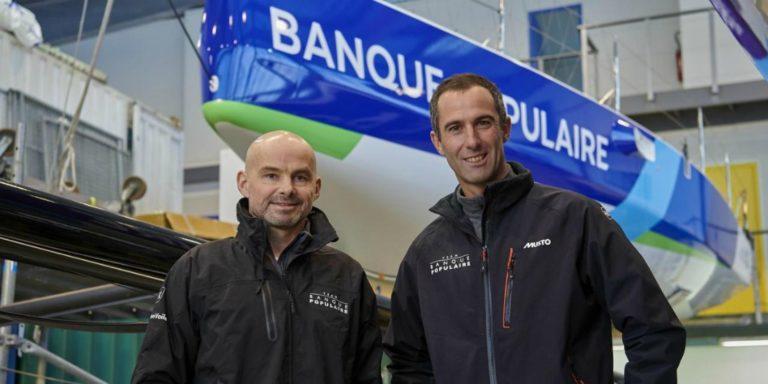 Erwan Le Roux fera équipe avec Armel Le Cléac'h à bord du Figaro Banque Populaire sur la Transat AG2R La Mondiale