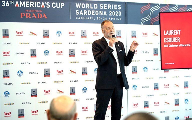 Laurent Esquier détaille ses vues sur l'America's Cup