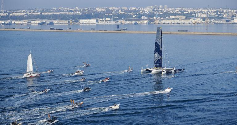 Les villes investissent dans la course au large à l'image de Brest pour Brest Atlantiques