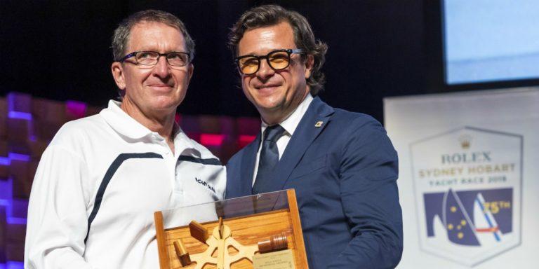 Will Oxley a remporté la Sydney-Hobart, navigateur sur Ichi Ban