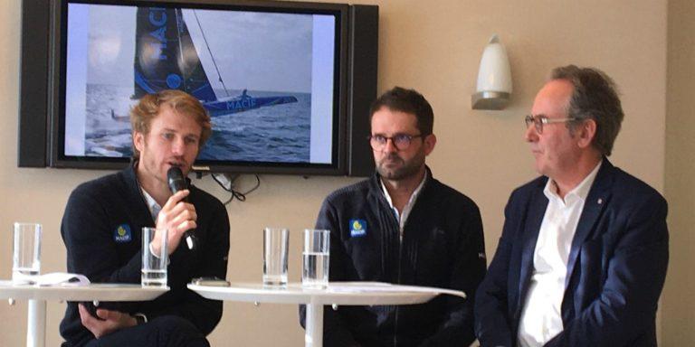 François Gabart a choisi de confier la barre de Macif à Pascal Bidégorry
