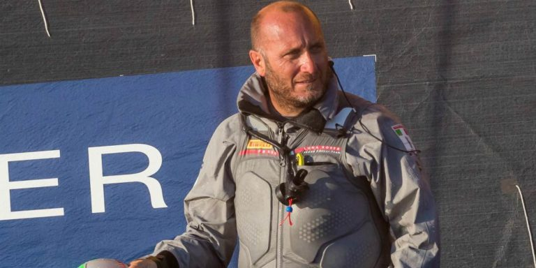 Max Sirena, skipper de Luna Rossa Challenge, veut tout faire pour ramener pour la première fois la Coupe de l'America en Italie