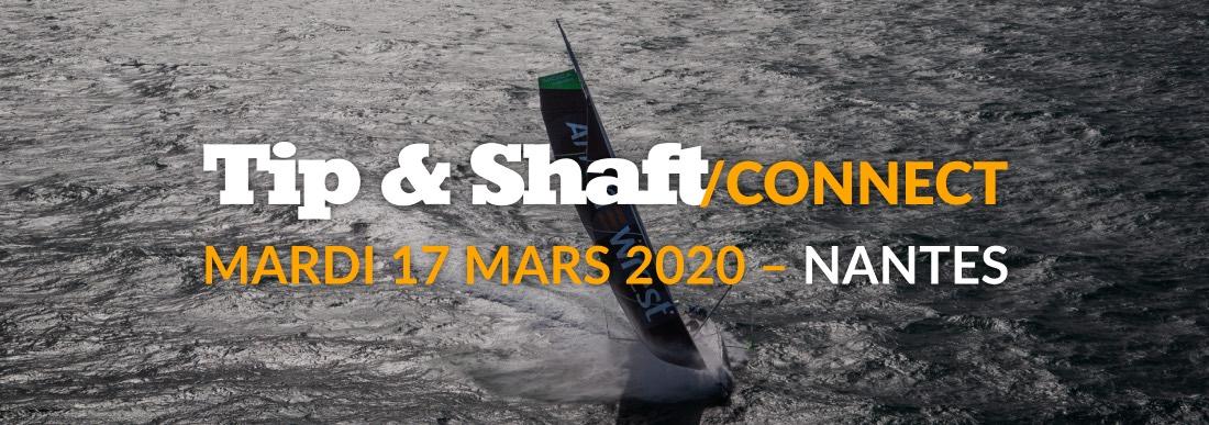 Tip & Shaft Connect, c'est le rendez-vous business de la voile de compétition et de la course au large.