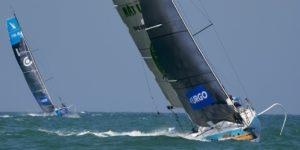 Le Figaro 3 fait partie des candidats comme bateau de l'épreuve de course au large des JO de Paris 2024