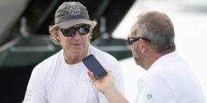 Ken Read dirige actuellement North Sails Group, tout en continuant à beaucoup naviguer