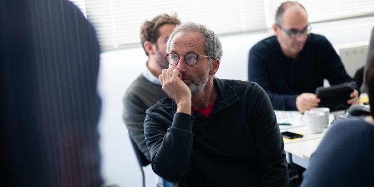 Michel Desjoyeaux a participé à la conception et à la construction de l'Imoca Corum L'Epargne