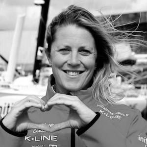 Volvo Ocean Race, Vendée Globe, Sam Davies est un grand marin qui est passée dans Into The Wind, le podcast de Tip & Shaft.