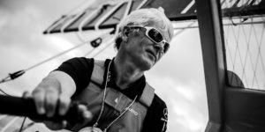 Vincent Riou a participé au Vendée Globe, à la Transat Jacque Vabre et à la Route du Rhum entre autres