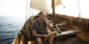Conrad Humphreys was the sailing master during the TV Show Mutiny