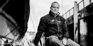 Le skipper de course au large Fabrice Amedeo s'aligne sur les plus grandes courses : Vendée Globe, Route du Rhum, Solitaire du Figaro, Transat Jacques Vabre.
