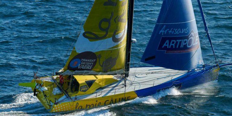 Arnaud Boissières disputera en 2020 son quatrième Vendée Globe consécutif