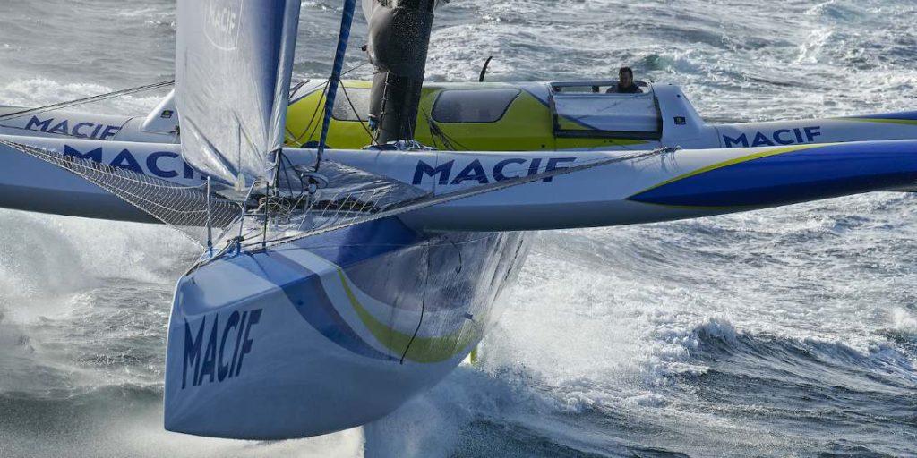 Skipper du trimaran Macif, François Gabart réfléchit à l'avenir de la course au large