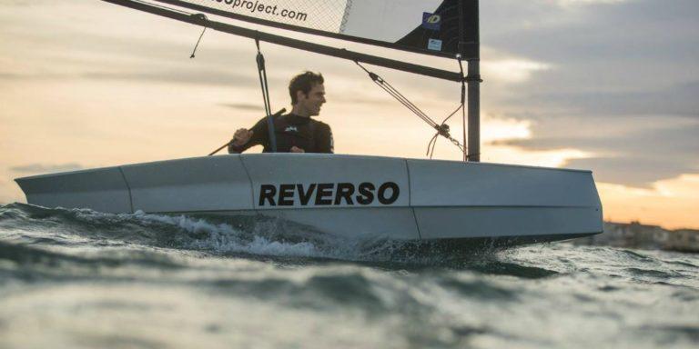 Le dériveur conçu par Reverso tient dans le coffre d'un break