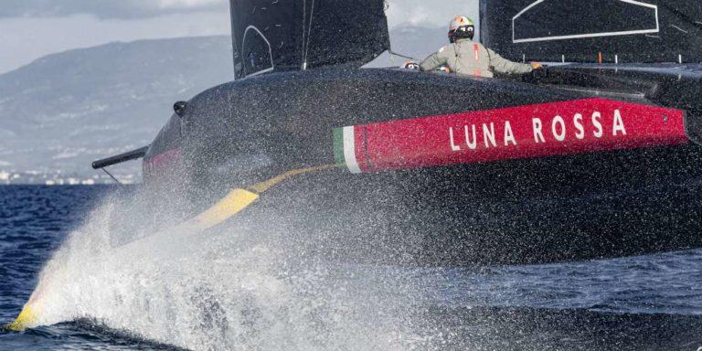 Les Italiens de Luna Rossa font partie des challengers de la 36e Coupe de l'America
