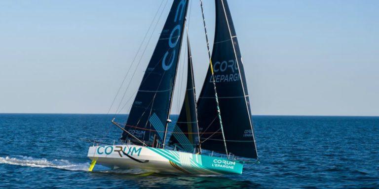 Sébastien Josse navigue avec Nicolas Troussel sur Corum L'Epargne