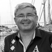 Jean-Jacques Laurent est PDG de PRB qui sponsorise des bateaux du Vendée Globe depuis de nombreuses années.
