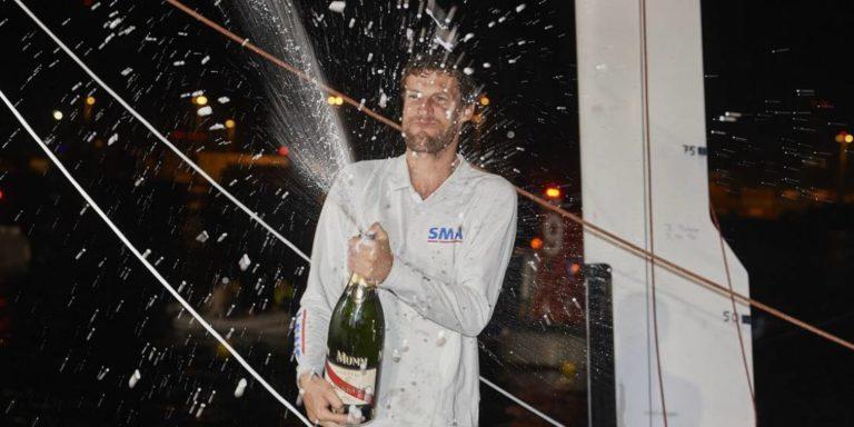 Paul Meilhat est le dernier vainqueur de la Route du Rhum en Imoca