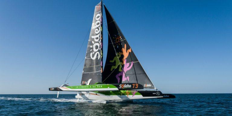 Sodebo Ultim 3 sera en stand-by pour le Trophée Jules Verne le 15 octobre