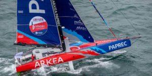 Arkéa Paprec recevra deux nouveaux foils un mois avant le départ du Vendée Globe