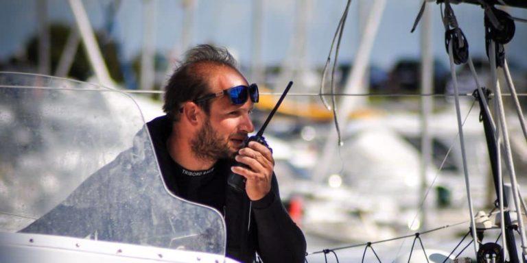 Sébastien Rogues, skipper du multicoques de course au large Primonial, s'est entretenu avec Tip & Shaft