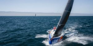 Henry Bomby and Jules Salter finished 3rd overall of the Drheam Cup in IRC 2