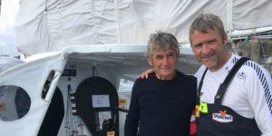Patrick et Yann Eliès comptent à eux deux quatre victoires sur la Solitaire du Figaro