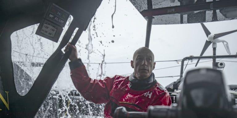 Armel Tripon est équipé d'un pilote automatique NKE sur le Vendée Globe