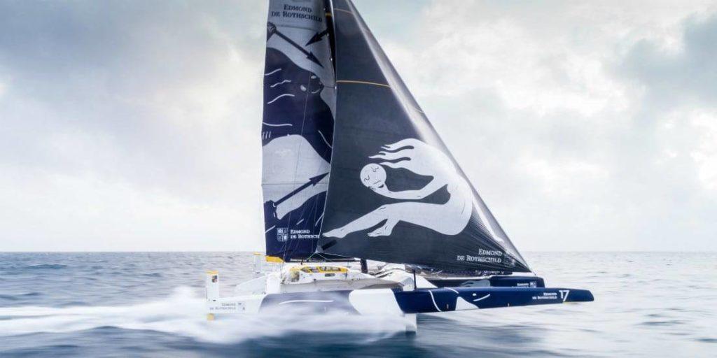 Le Maxi Edmond de Rotcshild se lance sur le Trophée Jules Verne