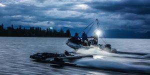 des tests à échelle 1/2 du futur SP80 ont été effectués sur le Lac Léman
