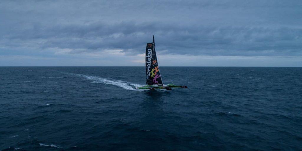 Sodebo s'élance pour défier le Trophée Jules Verne