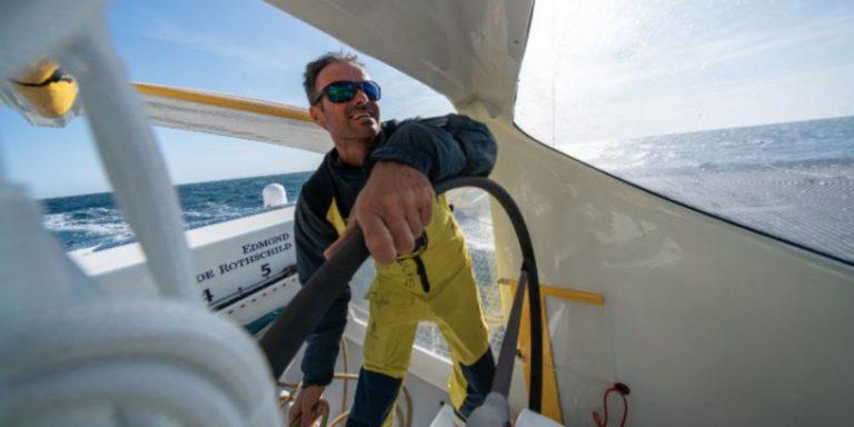Franck cammas a été élu marin de la décennie
