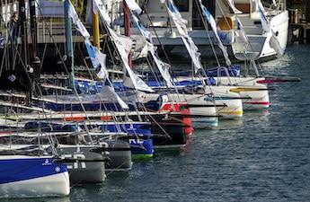 La flotte de Figaro prête pour le départ de la solitaire