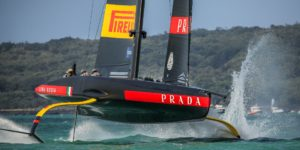 L'AC75 du défi italien Luna Rossa Prada Pirelli