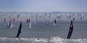 La course Fastnet Race en IRC