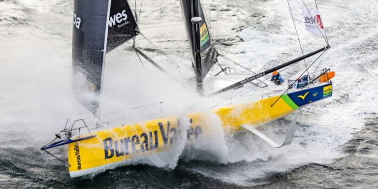 Louis Burton a terminé 3e du Vendée Globe sur Bureau Vallée