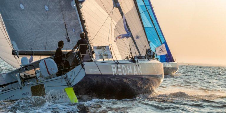 Le départ de la Normandy Channel Race 2020