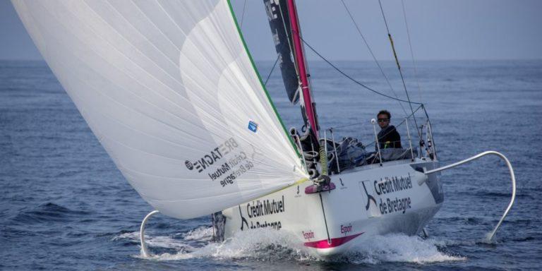 Tom Laperche, skipper de Bretagne CMB Performance