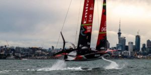 Team New Zealand prêt à affronter Luna Rossa