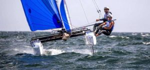 Delapierre / Audinet, les sélectionnés olympique en Nacra