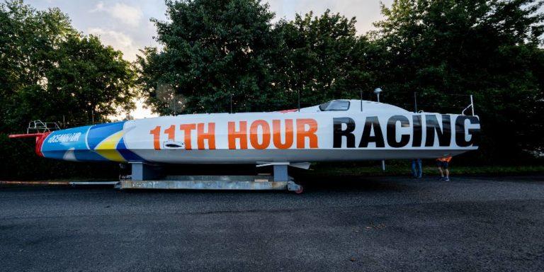 Le nouveau 60 pieds IUmoca de l'équipe 11th Hour Racing