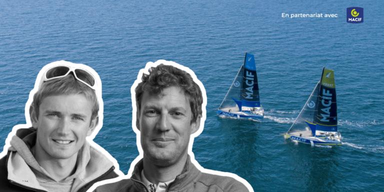 Podcast Skipper Macif Paul Meilhat et Fabien Delahaye