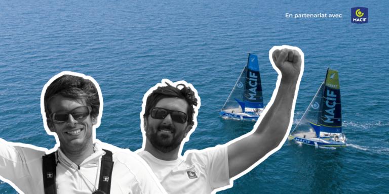 Podcast Skipper Macif avec Charlie Dalin et Yoann Richomme