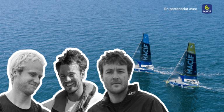 Podcast programme Skipper Macif avec Martin Le Pape, Pierre Quiroga et Erwan Le Draoulec