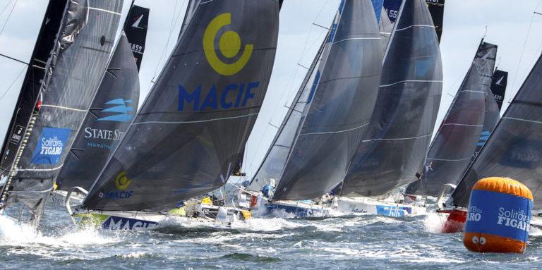 Depart de la 2e étape de la Solitaire du Figaro 2021