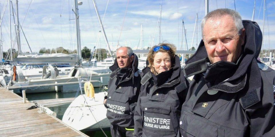 Christian Le Pape patron du Pôle Finistère Course au large